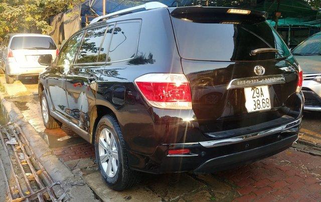 Bán xe Toyota Highlander 2.7 sản xuất năm 2011, màu đen, nhập khẩu nguyên chiếc6