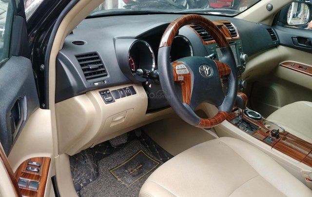 Bán xe Toyota Highlander 2.7 sản xuất năm 2011, màu đen, nhập khẩu nguyên chiếc7