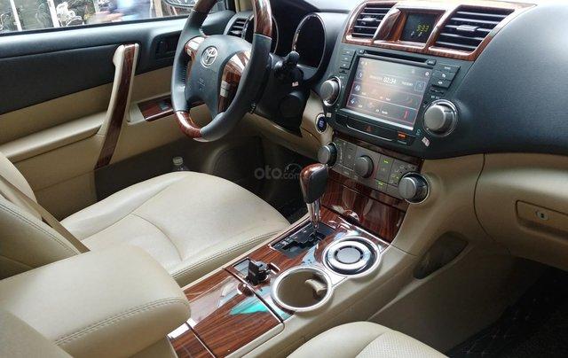 Bán xe Toyota Highlander 2.7 sản xuất năm 2011, màu đen, nhập khẩu nguyên chiếc8