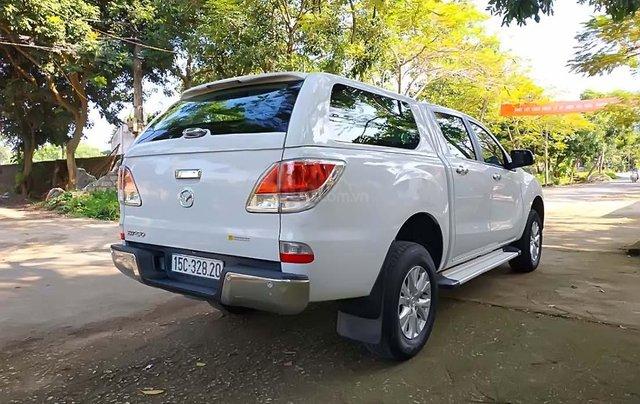 Cần bán Mazda BT 50 2.2AT 2WD sản xuất năm 2015, màu trắng, nhập khẩu  1