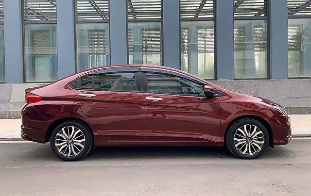 Cần bán Honda City 1.5TOP sản xuất 2018, màu đỏ, 590 triệu1
