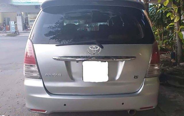 Cần bán Toyota Innova 2.0J đời 2007, màu bạc, xe gia đình 1
