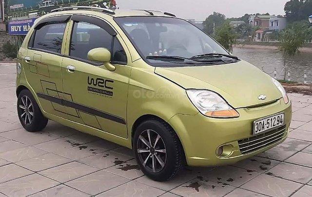 Bán xe cũ Chevrolet Spark sản xuất 2009, màu xanh lục0