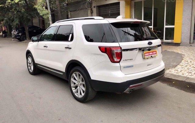Bán Ford Explorer năm sản xuất 2017, màu trắng, nhập khẩu1