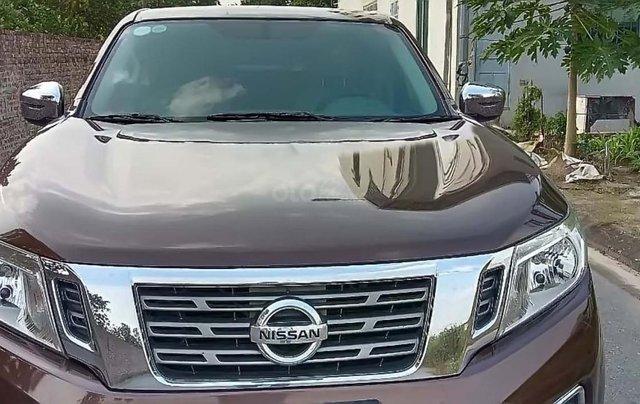 Bán Nissan Navara EL năm sản xuất 2016, màu nâu, nhập khẩu  0