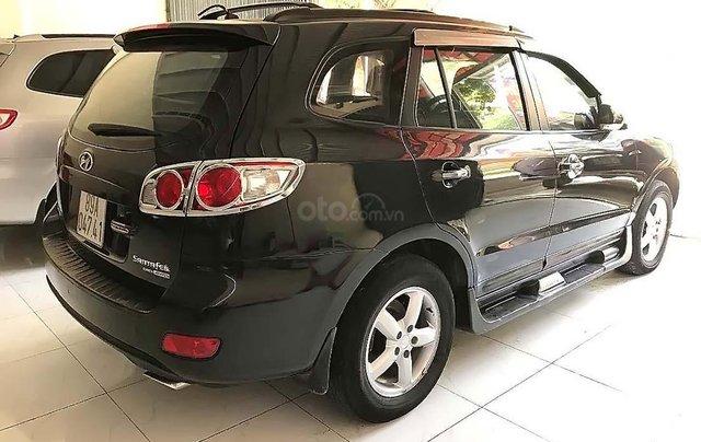 Bán Hyundai Santa Fe sản xuất 2009, màu đen, xe nhập 1