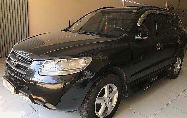 Bán Hyundai Santa Fe sản xuất 2009, màu đen, xe nhập 0