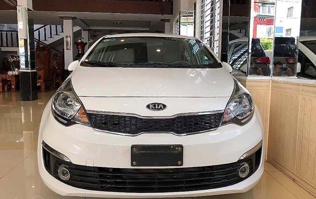 Bán Kia Rio 1.4 AT sản xuất năm 2016, màu trắng, nhập khẩu đẹp 0