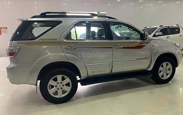 Cần bán gấp Toyota Fortuner 2.5G năm sản xuất 2009, màu bạc  1