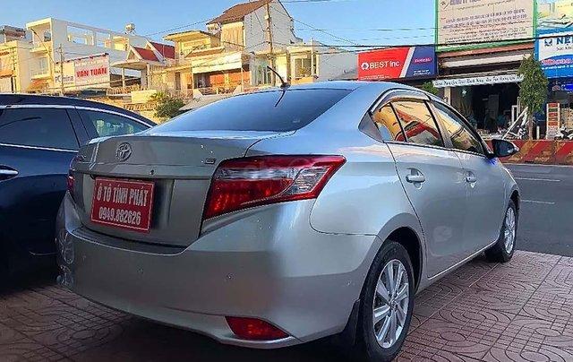 Cần bán xe Toyota Vios 1.5E sản xuất năm 2017, màu bạc1