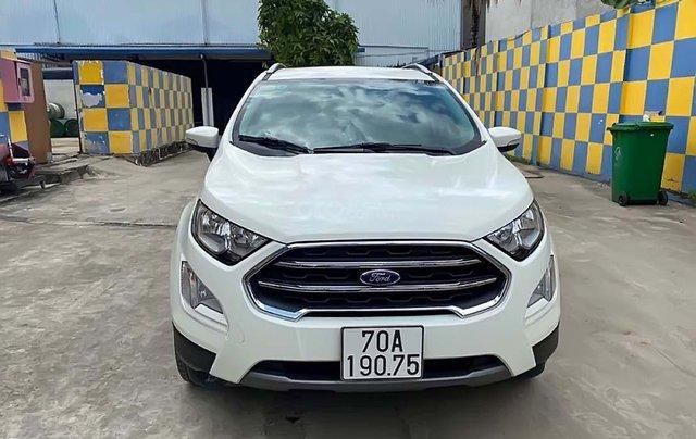 Bán ô tô Ford EcoSport đời 2019, màu trắng0