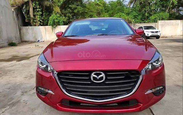 Cần bán lại xe Mazda 3 năm sản xuất 2019, màu đỏ  0