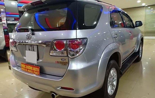 Bán Toyota Fortuner G năm 2012, màu bạc, xe gia đình, 670 triệu1