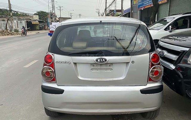 Bán xe Kia Morning LX 1.1 MT đời 2011, màu bạc1