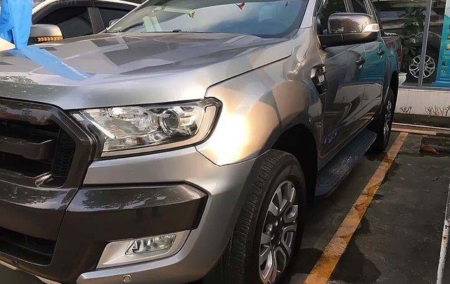 Bán xe Ford Ranger đời 2016, màu bạc, nhập khẩu nguyên chiếc0