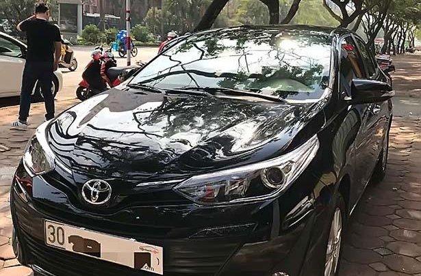 Bán xe Toyota Vios 1.5G sản xuất 2019, màu đen, giá tốt0