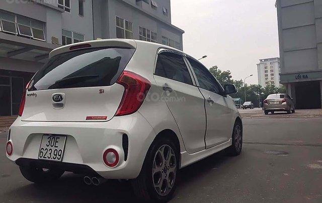 Cần bán xe Kia Morning Si AT đời 2016, màu trắng, số tự động1