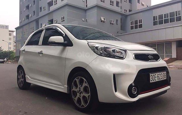 Cần bán xe Kia Morning Si AT đời 2016, màu trắng, số tự động0