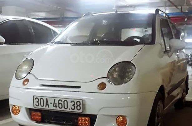 Cần bán Daewoo Matiz SE năm 2005, màu trắng, chính chủ 0