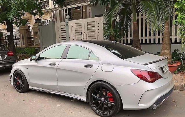 Cần bán Mercedes CLA 45 AMG đời 2014, màu bạc, nhập khẩu 1