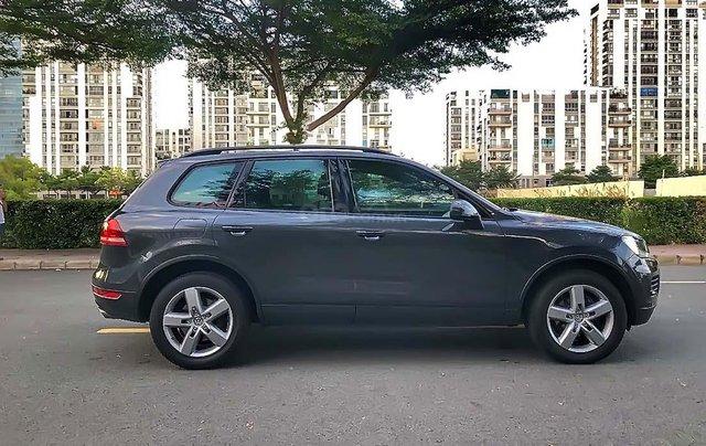 Cần bán gấp Volkswagen Touareg V6 2012, màu xanh, xe nhập chính chủ1