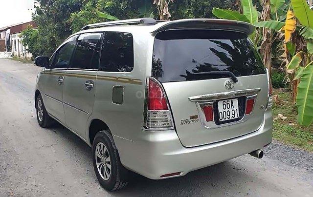 Bán Toyota Innova J đời 2010, màu bạc xe gia đình, giá chỉ 258 triệu1