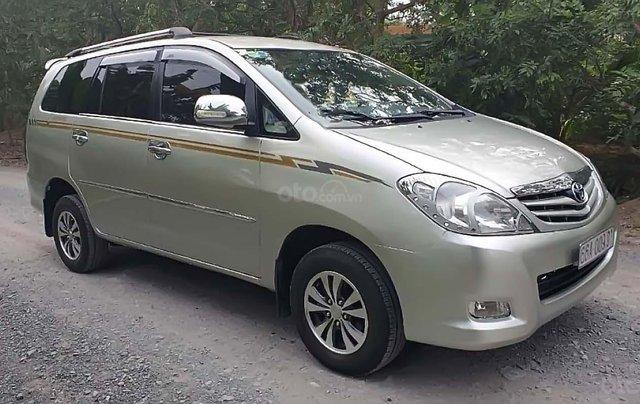 Bán Toyota Innova J đời 2010, màu bạc xe gia đình, giá chỉ 258 triệu0