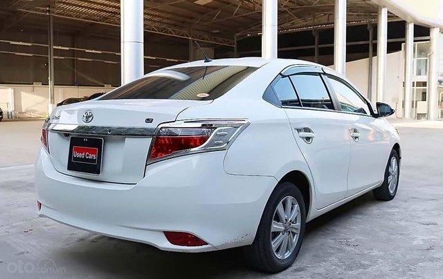 Bán Toyota Vios G AT sản xuất năm 2018, màu trắng số tự động, giá chỉ 560 triệu1