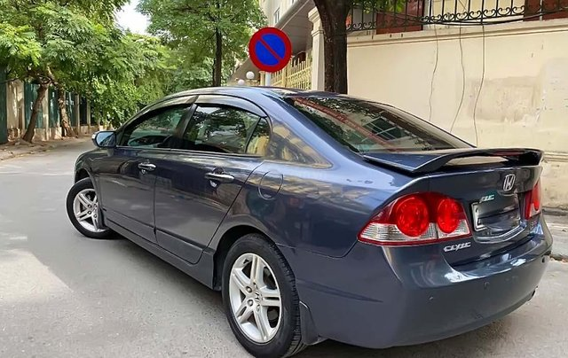 Cần bán lại xe Honda Civic 2.0 AT sản xuất 2007, màu xám chính chủ, giá chỉ 368 triệu0