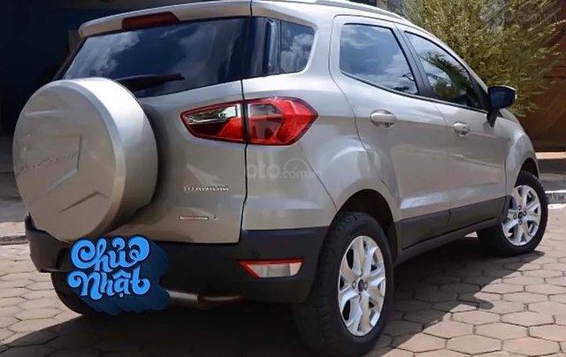 Bán Ford EcoSport Titatinum năm sản xuất 2016, màu bạc, nhập khẩu 1