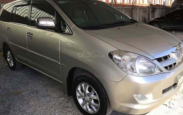 Cần bán lại xe Toyota Innova G 2006, xe gia đình0