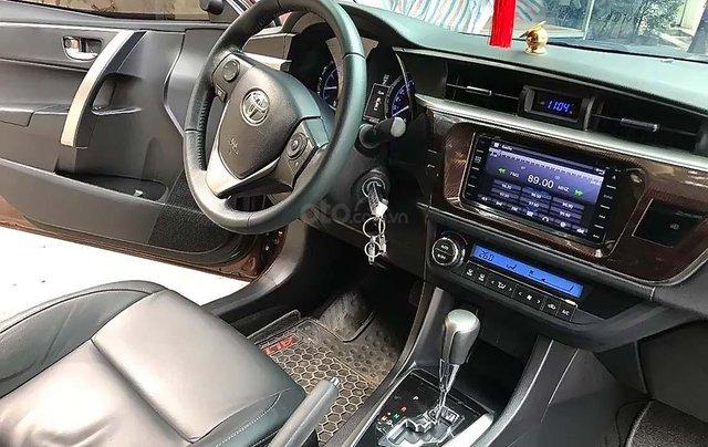 Bán ô tô Toyota Corolla Altis 1.8G 2017, màu nâu, 675tr4