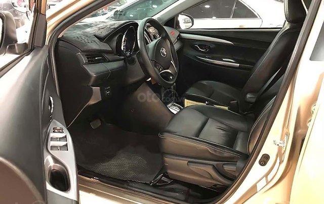 Cần bán xe Toyota Vios 1.5 sản xuất 2014, màu vàng như mới2