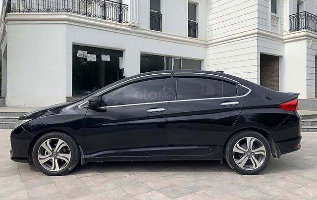 Cần bán gấp Honda City đời 2017, màu đen, 510 triệu0