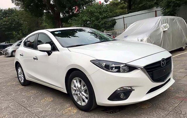 Bán xe cũ Mazda 3 1.5 AT năm 2016, màu trắng0