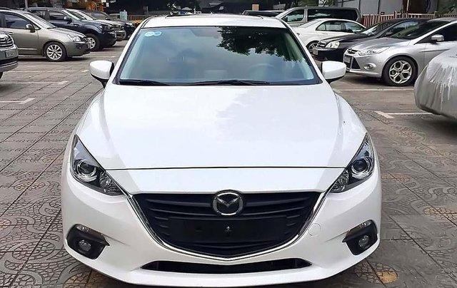Bán xe cũ Mazda 3 1.5 AT năm 2016, màu trắng4
