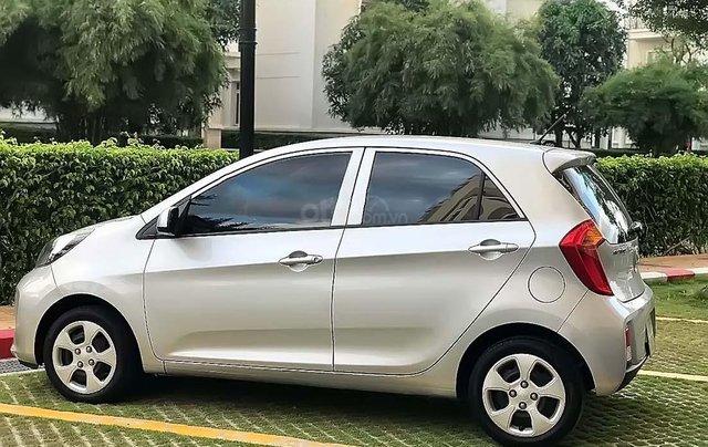Bán Kia Morning EX sản xuất 2018, màu bạc, số sàn, giá 268tr1