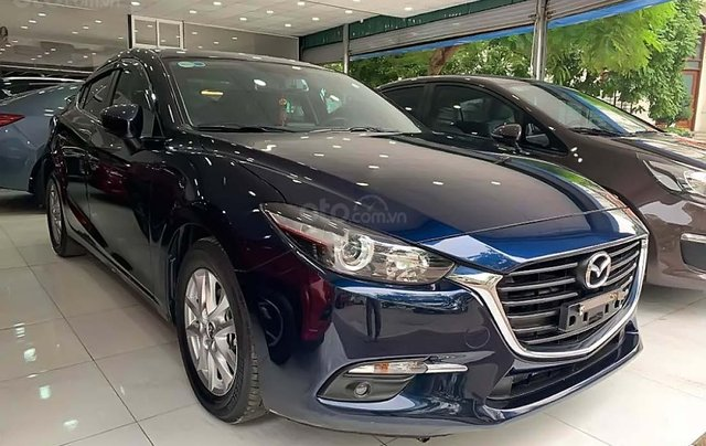 Bán xe cũ Mazda 3 1.5 AT 2018, màu xanh lam0