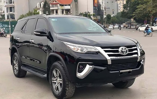 Bán Toyota Fortuner 2.7 sản xuất năm 2017, màu đen, nhập khẩu 0
