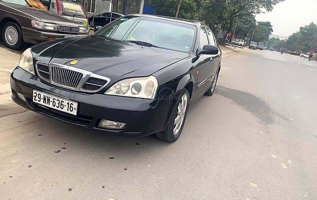 Cần bán xe cũ Daewoo Magnus 2.0 MT sản xuất 2004, màu đen, giá cạnh tranh0