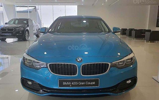 Bán xe BMW 4 Series 420i năm 2019, màu xanh lam, nhập khẩu0