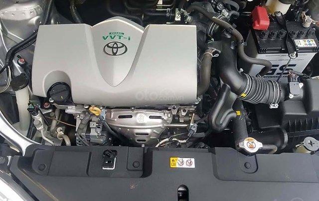 Bán Toyota Vios 1.5E CVT sản xuất 2018, màu bạc, số tự động 1