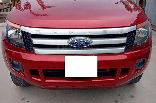 Bán Ford Ranger sản xuất 2014, màu đỏ, nhập khẩu 0