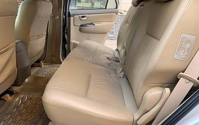 Bán Toyota Fortuner 2.7V 4x2 AT sản xuất 2013, màu bạc, giá tốt1
