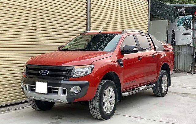 Cần bán Ford Ranger đời 2014, màu đỏ, nhập khẩu0