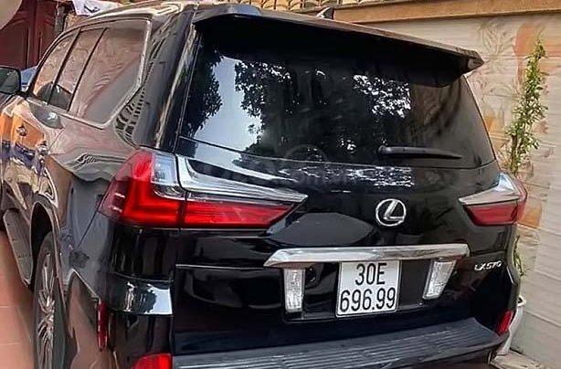 Bán ô tô Lexus LX 570 2016, màu đen, nhập khẩu nguyên chiếc2