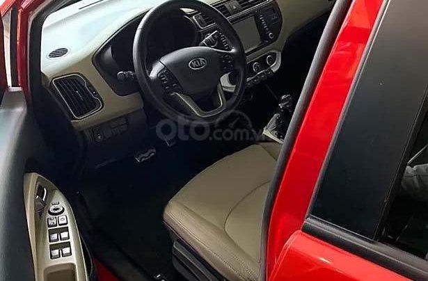Bán Kia Rio năm sản xuất 2016, màu đỏ, nhập khẩu  3