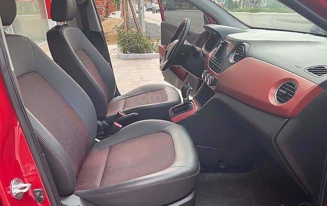 Bán xe Hyundai Grand i10 1.2 AT đời 2017, màu đỏ, số tự động4