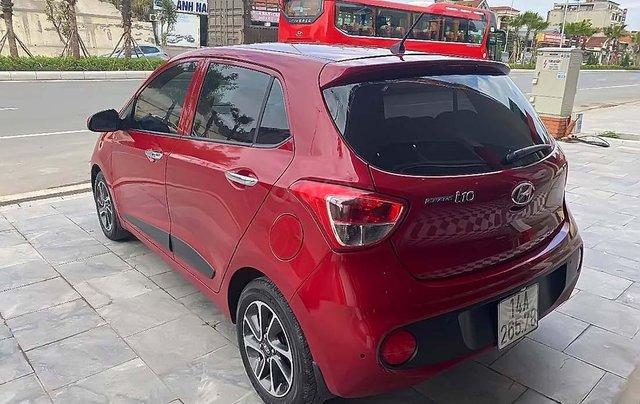 Bán xe Hyundai Grand i10 1.2 AT đời 2017, màu đỏ, số tự động1
