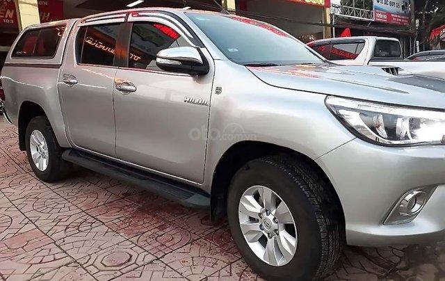 Cần bán Toyota Hilux 3.0G 4x4 AT đời 2015, màu bạc, nhập khẩu 4